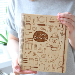 "Recipe Book ""I love cooking"""
