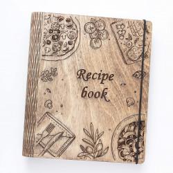 """Drevený receptar """"Recipe..."""