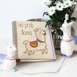 "Zápisník ""No Prob Lama"""