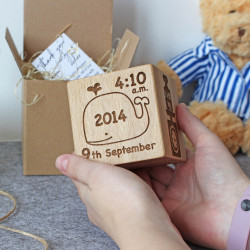Memory cube for kids