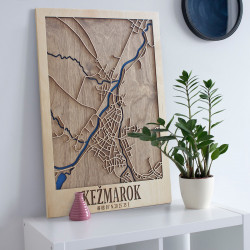 """3D city map """"Kežmarok"""""""