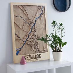 "3D mapa mesta ""Kežmarok"""