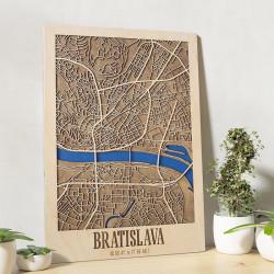 "3D mapa mesta ""Bratislava"""
