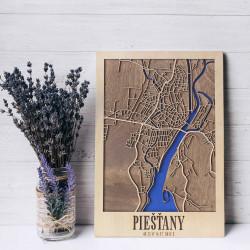 """3D city map """"Piešťany"""""""