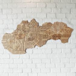 Mapa Slovenskej Ľudovej...