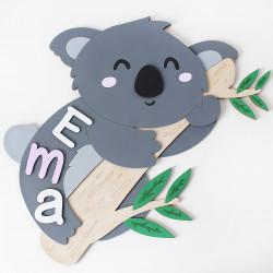 "Drevene puzzle ""Koala"""