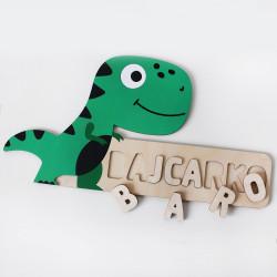 "Wooden baby puzzle ""Dinosaur"""
