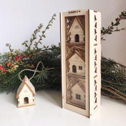 """Vianočné dekorácie """"Domček..."""