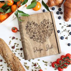 """Recipe book """"Heart"""""""