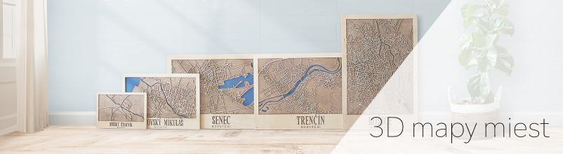 3D city maps